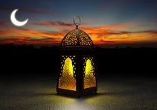 The famous Ramadan lantern royalty free stock photos