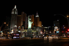 New York, New York Hotel & Casino, Las Vegas, NV Stock Photos