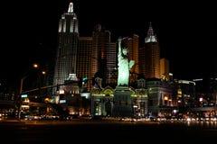 New York, New York Hotel & Casino, Las Vegas, NV Stock Photo