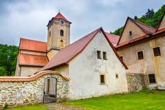 Famous Red Monastery called Cerveny Klastor in Pieniny Stock Photos