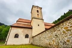 Famous Red Monastery called Cerveny Klastor in Pieniny Stock Image