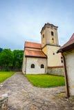 Famous Red Monastery called Cerveny Klastor, Slovakia Royalty Free Stock Images