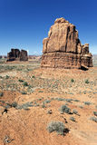 Famous Red Rock formations Royalty Free Stock Photography