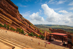 Famous Red Rocks Amphitheater in Morrison. Stock Photography