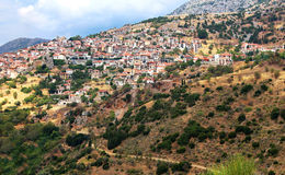 Famous resort town of Arachova royalty free stock photos