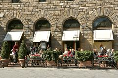 Famous Restaurant In Florence, Italy Stock Images