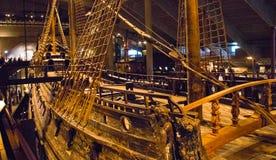 Inside the Vasa Museum royalty free stock photo
