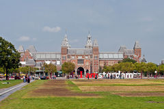 Famous Rijksmuseum in Amsterdam Royalty Free Stock Image