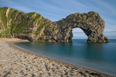 Famous rock arch of Durdle Door, Dorset, England, UK Stock Image