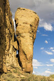 Famous Rock in Chaco Culture Royalty Free Stock Photography