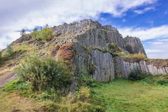 Famous rock formation in Czech Republic Stock Images