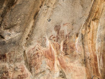 Famous rock paintings in Iringa Royalty Free Stock Photography