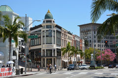 Famous Rodeo drive street Stock Image
