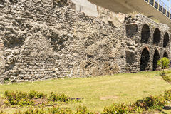 The famous Roman aqueduct in Istanbul, Royalty Free Stock Photos