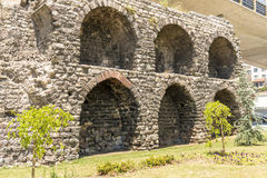 The famous Roman aqueduct in Istanbul, Royalty Free Stock Photography