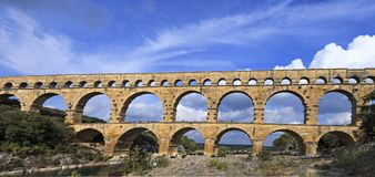 Famous roman bridge royalty free stock images