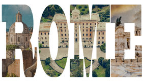 Famous roman sights Royalty Free Stock Image