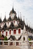 The Famous Roof Of Wat Ratchanadda, Bangkok Royalty Free Stock Photography