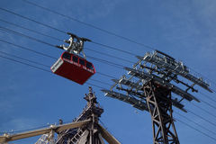 The famous The Roosevelt Island Tramway in New York Royalty Free Stock Photos