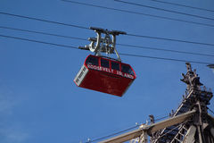 The famous The Roosevelt Island Tramway in New York Royalty Free Stock Images