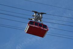 The famous The Roosevelt Island Tramway in New York Stock Images