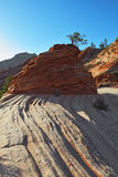 The famous round rock of sandstone Royalty Free Stock Image
