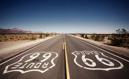 Famous Route 66 Royalty Free Stock Photography