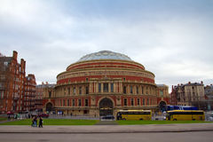 Famous Royal Albert Hall in London Royalty Free Stock Photos