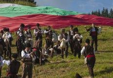 Famous rozhen folklore festival in bulgaria Stock Photo
