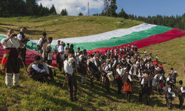 Famous rozhen folklore festival in bulgaria Stock Photography