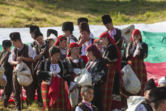 Famous rozhen folklore festival in bulgaria Royalty Free Stock Photos