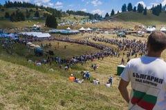 Famous rozhen folklore festival in bulgaria Stock Photos