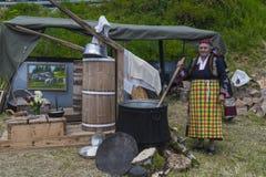 Famous rozhen folklore festival in bulgaria Stock Image
