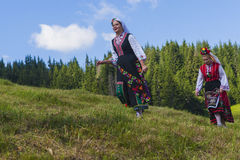 Famous rozhen folklore festival in bulgaria Royalty Free Stock Images