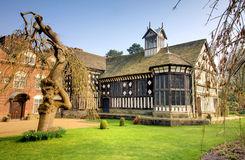 The Famous Rufford Hall Royalty Free Stock Photography