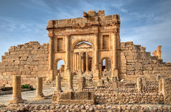 Famous ruins Royalty Free Stock Photography