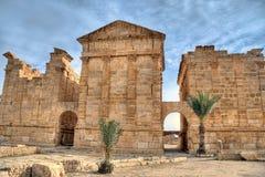 Famous ruins od Sbeitla Stock Photography