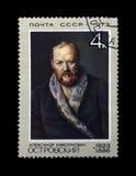 Ostrovsky Alexander, famous russian dramatist, circa 1973, Stock Photo