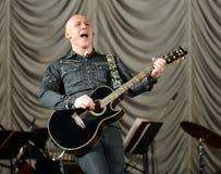 Famous Russian singer Denis Maidanov. Royalty Free Stock Image