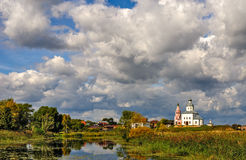 Famous russian town Suzdal Stock Images