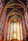 Famous Saint Chapelle in Paris, France Royalty Free Stock Photo