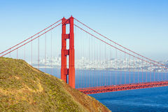 Famous San Francisco Golden Gate Stock Photo