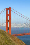 Famous San Francisco Golden Gate bridge Royalty Free Stock Images
