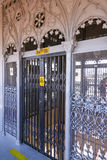 Famous Santa Justa Elevator in Lisbon Stock Images