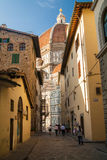 Famous Santa Maria del Fiore cathedral in Florence, Italy Royalty Free Stock Photography