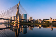 Famous Sao Paulo Bridge stock photo