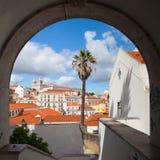 Famous Sao Vicente de Fora Monastery Royalty Free Stock Image