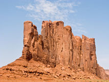 Famous scenic Butte in Monument Valley Royalty Free Stock Photo