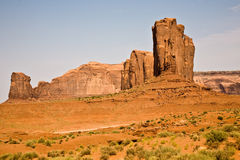 Famous scenic Butte in Monument Valley Stock Photo