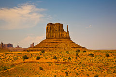 Famous scenic Butte in Monument Valley Royalty Free Stock Image